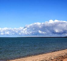 Kayaking At Whyalla Beach by Cherie Vivar