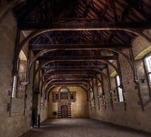 Indoor Riding School At Bolsover Castle by John Hare