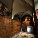 The Panelled Room - Bolsover Castle by John Hare