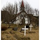 Halla's Church, Þjórsárdalur.  (Iceland) by Madeleine Marx-Bentley