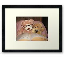 Yes.....I Can Read! Framed Print