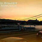 Sunset over Elizabeth Bridge by JoAndCoCards