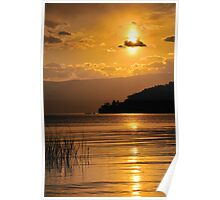 Ohrid Sunset 2 Poster