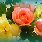 Rose Bouquet by debbiedoda