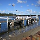The Wharf at Greenwell Point, NSW by Lunaria