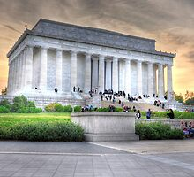 Lincoln Memorial by hogie247