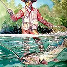 Gone Fishing by Sally Sargent