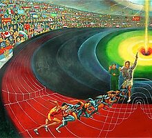 """""""Black hole at Beijing Olympic-2008"""" by ZorMan"""