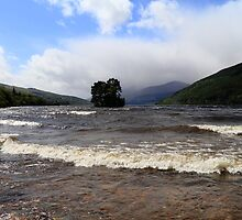 A Very Windy Day on Loch Tay by Paul Bettison