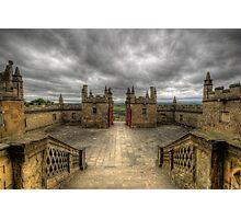 Little Castle Entrance - Bolsover Castle Photographic Print
