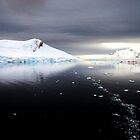 Antarctic Dawn, Paradise Bay by John Dalkin