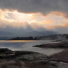 """Winter Sky"" Elliot Beach Park,Ladysmith BC Can by Heather Wade"