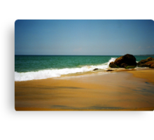 Kovalam beach Canvas Print