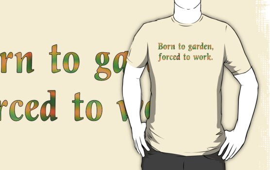 Born to Garden Tee by Betty Mackey