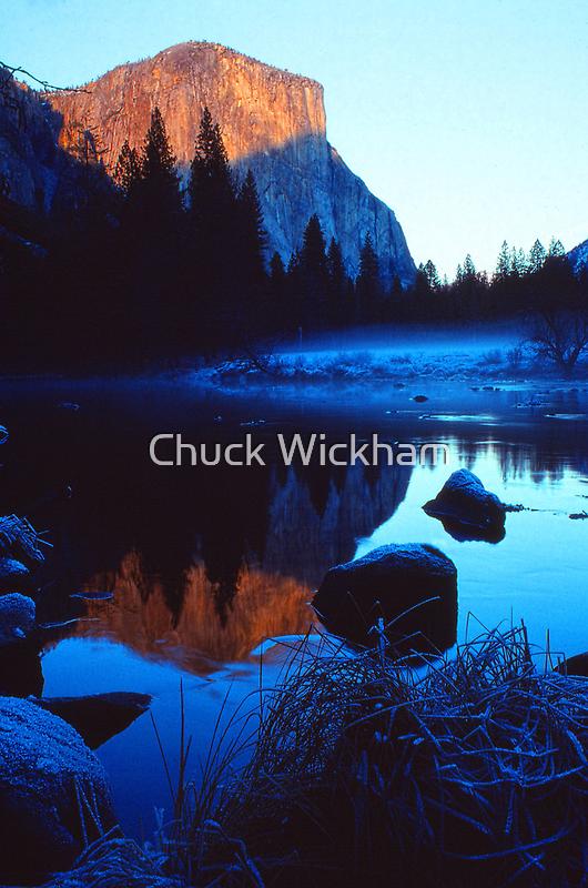 EL CAPITAN, MERCED RIVER by Chuck Wickham