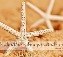 Starfish with Swedish Proverb by MegStewart