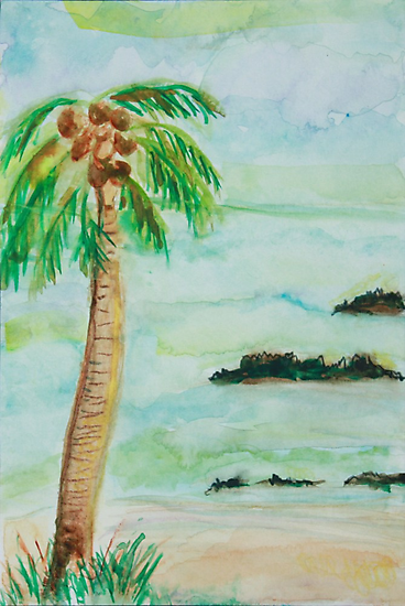PALM TREE HAWAII by eoconnor