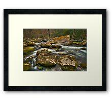 Little Pigeon River Framed Print
