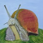 The Garden Snail by Rebecca Lee Means