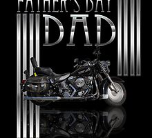 Father's Day Card With Motorbike by Moonlake