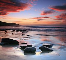 Crimson Tide- Great Ocean Road by Cameron B