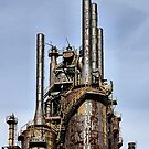 Bethlehem Steel Blast Furnaces by djphoto