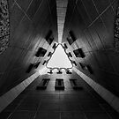 Portal in Black and White by Myron Watamaniuk