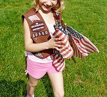 Flag Girl by Amy Herrfurth