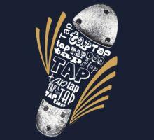 Tap Shoe Grayscale - Dark by LTDesignStudio