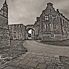 West Terrace - Bolsover Castle by John Hare