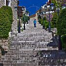 250 STEPS TO THE CHURCH ....! by vaggypar