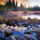 EL CAPITAN MERCED RIVER by Chuck Wickham