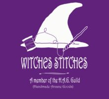 Witches Stitches H.A.G. Guild - White Design by KMartinez