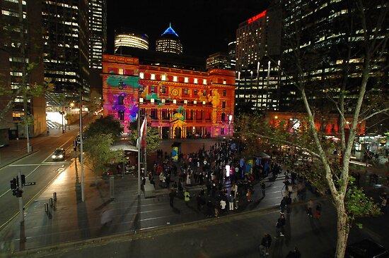 Customs House, Vivid Festival, Sydney 2011 by muz2142