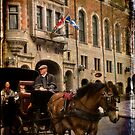 Horse & Carriage, Quebec City by Margaret Goodwin