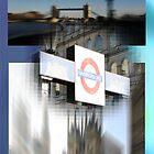 the edge of my eye on london by fuatnoor