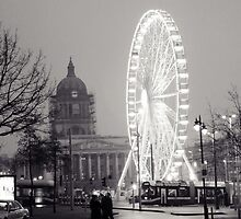 Nottingham Square Big Wheel by Richard Jackson