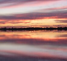 lake bonney sunset1sw by Aus27