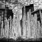 B&W Fountains by Richard Jackson