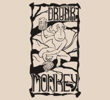 Drunk Monkey by pufahl