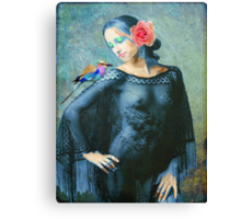 Rose's Gypsy Soul Canvas Print