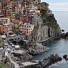 Manarola Classic view by Tom Davidson