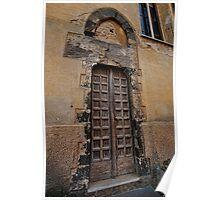 Doorway in Monterosso al Mare Poster