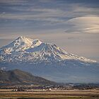 Mount Shasta California by Tom Davidson