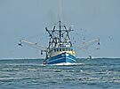 Trawler in Barnegat Inlet - NJ by MotherNature