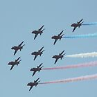 Red Arrows 1 by JenMetcalf