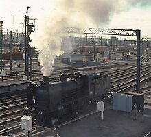197412990023 K 184 going into Spencer Street Yards Melbourne by Fred Mitchell