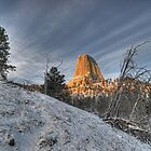Devil's Tower wide by Tom Davidson