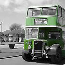 Big Green Bus by funkybunch