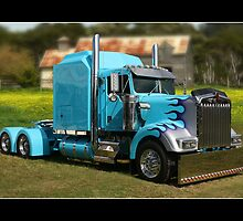 Tricked Up Kenworth by Keith Hawley